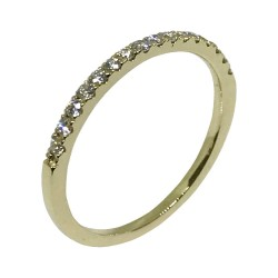 Gold Diamond Ring 0.22 CT. T.W. Model Number : 1670