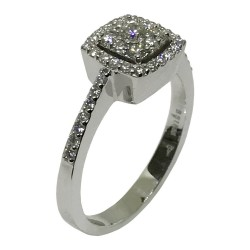 Gold Diamond Ring 0.45 CT. T.W. Model Number : 1725