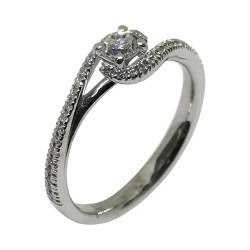 Gold Diamond Ring 0.38 CT. T.W. Model Number : 1634