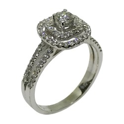 Gold Diamond Ring 0.65 CT. T.W. Model Number : 1639