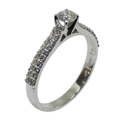 Gold Diamond Ring 0.47 CT. T.W. Model Number : 1682