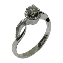 Gold Diamond Ring 0.44 CT. T.W. Model Number : 1721