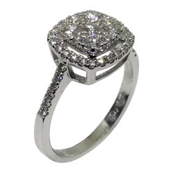 Gold Diamond Ring 0.85 CT. T.W. Model Number : 1647