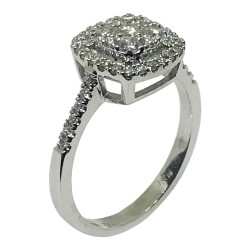 Gold Diamond Ring 0.67 CT. T.W. Model Number : 1649