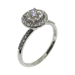 Gold Diamond Ring 0.52 CT. T.W. Model Number : 4456