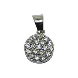 Gold Diamond Pendant 0.23 CT. T.W. Model Number : 1744