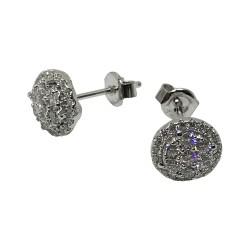 Gold Diamond EarRings 0.82 CT. T.W. Model Number : 1757