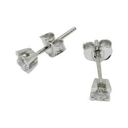 Gold Diamond EarRings 0.35 CT. T.W. Model Number : 1763