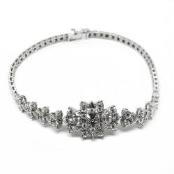 Gold Diamond Bracelet 0.58 CT. T.W. Model Number : 1772