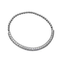 צמיד זהב משובץ 30 יהלומים במשקל 1.36 קרט דגם : 1778