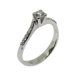 Gold Diamond Ring 0.36 CT. T.W. Model Number : 1788
