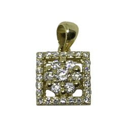 Gold Diamond Pendant 0.4 CT. T.W. Model Number : 1831