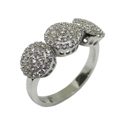 Gold Diamond Ring 0.58 CT. T.W. Model Number : 1846