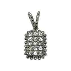 Gold Diamond Pendant 0.31 CT. T.W. Model Number : 1853