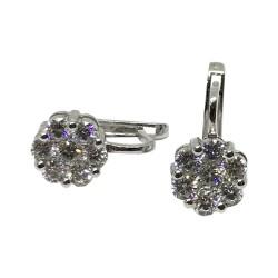 Gold Diamond EarRings 1.69 CT. T.W. Model Number : 1884