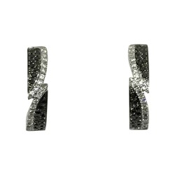 Gold Diamond EarRings 0.26 CT. T.W. Model Number : 1891