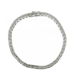 Gold Diamond Bracelet 6.2 CT. T.W. Model Number : 1897