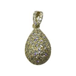 Gold Diamond Pendant 0.68 CT. T.W. Model Number : 1919