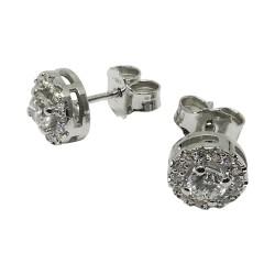 Gold Diamond EarRings 0.69 CT. T.W. Model Number : 1936