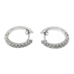 Gold Diamond EarRings 0.45 CT. T.W. Model Number : 1939