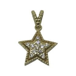 Gold Diamond Pendant 0.08 CT. T.W. Model Number : 1943