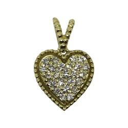 Gold Diamond Pendant 0.18 CT. T.W. Model Number : 1949
