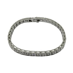 Gold Diamond Bracelet 4.06 CT. T.W. Model Number : 1955
