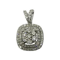 Gold Diamond Pendant 0.54 CT. T.W. Model Number : 1964