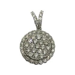 Gold Diamond Pendant 0.94 CT. T.W. Model Number : 1965