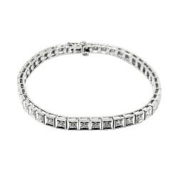 Gold Diamond Bracelet 2.7 CT. T.W. Model Number : 1971