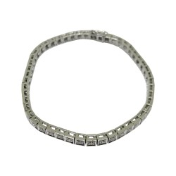 Gold Diamond Bracelet 2.14 CT. T.W. Model Number : 1972