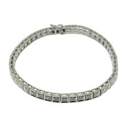 Gold Diamond Bracelet 1.88 CT. T.W. Model Number : 1973