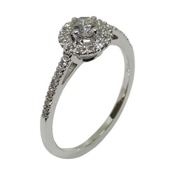 Gold Diamond Ring 0.33 CT. T.W. Model Number : 1977