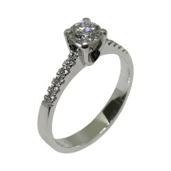 Gold Diamond Ring 0.62 CT. T.W. Model Number : 1998