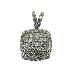Gold Diamond Pendant 0.83 CT. T.W. Model Number : 2016