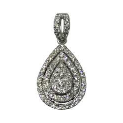 Gold Diamond Pendant 0.36 CT. T.W. Model Number : 2020
