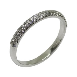 Gold Diamond Ring 0.23 CT. T.W. Model Number : 2028