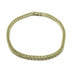 Gold Diamond Bracelet 0.82 CT. T.W. Model Number : 2040