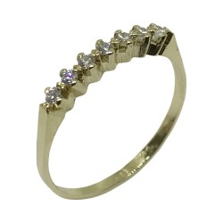 Gold Diamond Ring 0.24 CT. T.W. Model Number : 2046