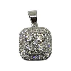 Gold Diamond Pendant 0.52 CT. T.W. Model Number : 2078