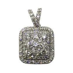 Gold Diamond Pendant 0.68 CT. T.W. Model Number : 2079