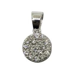 Gold Diamond Pendant 0.23 CT. T.W. Model Number : 2081