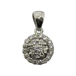 Gold Diamond Pendant 0.3 CT. T.W. Model Number : 2082