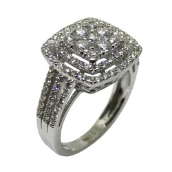 Gold Diamond Ring 1.56 CT. T.W. Model Number : 2087