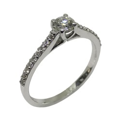 Gold Diamond Ring 0.44 CT. T.W. Model Number : 2099