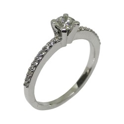 Gold Diamond Ring 0.37 CT. T.W. Model Number : 2116