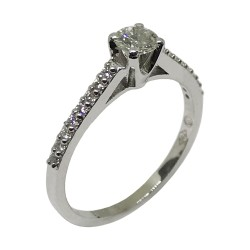 Gold Diamond Ring 0.44 CT. T.W. Model Number : 2121