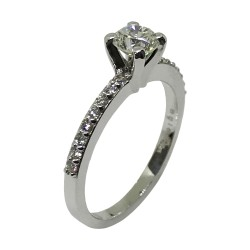 Gold Diamond Ring 0.7 CT. T.W. Model Number : 2134