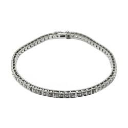 Gold Diamond Bracelet 0.77 CT. T.W. Model Number : 2143