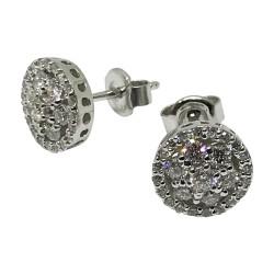 Gold Diamond EarRings 0.82 CT. T.W. Model Number : 2150
